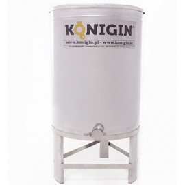 Honey tank 200 l  - integrated stand