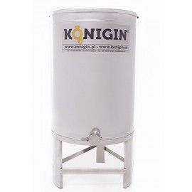 Honey tank 1000 l  - integrated stand