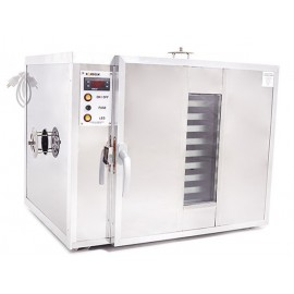 5 shelves Pollen dryer and warming cabinet - Stainless steel