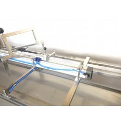 Pneumatic frame loader